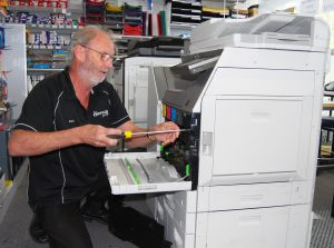 We not only sell printers and photocopiers, but we can also carry out repairs either onsite at your premises or at ours.